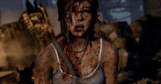 Lara Croft yang Berdarah-darah