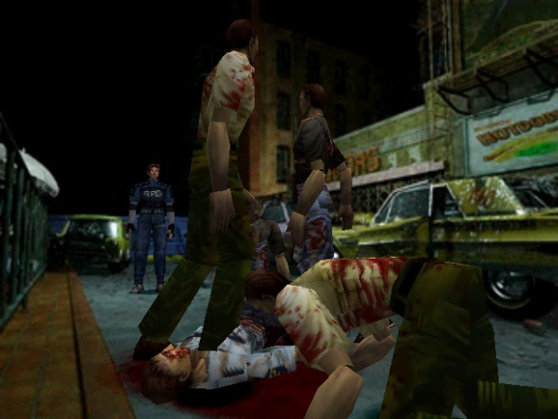 Pesta ala Zombie di Raccoon City